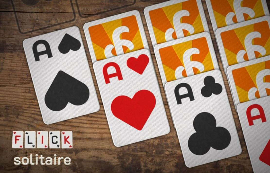 Flick Solitaire - gra mobilna