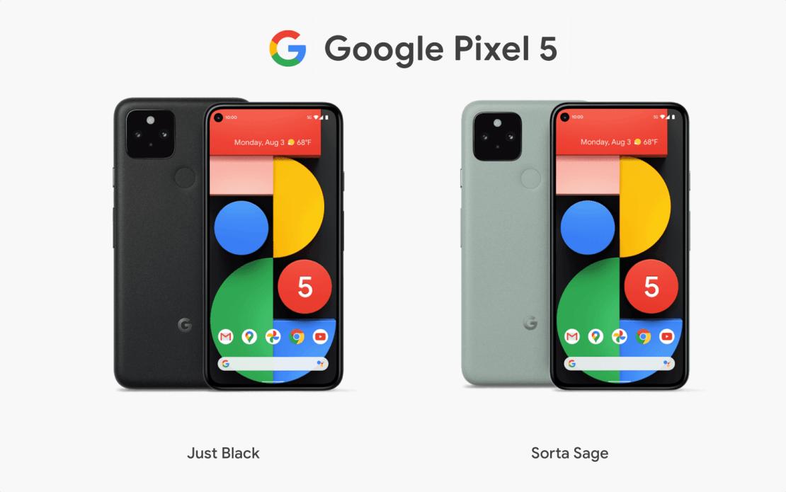 Google Pixel 5 (5G) 2020