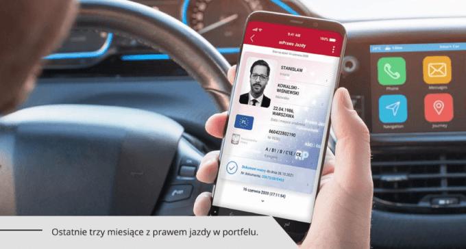 mPrawo Jazdy w aplikacji mObywatel