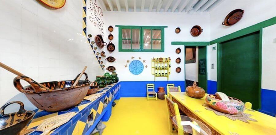 Museo Frida Kahlo – La Casa Azul (Błękitny Dom) - kuchnia