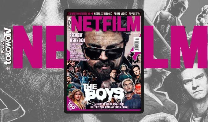 Okładka magazynu Netfilm 5/2020