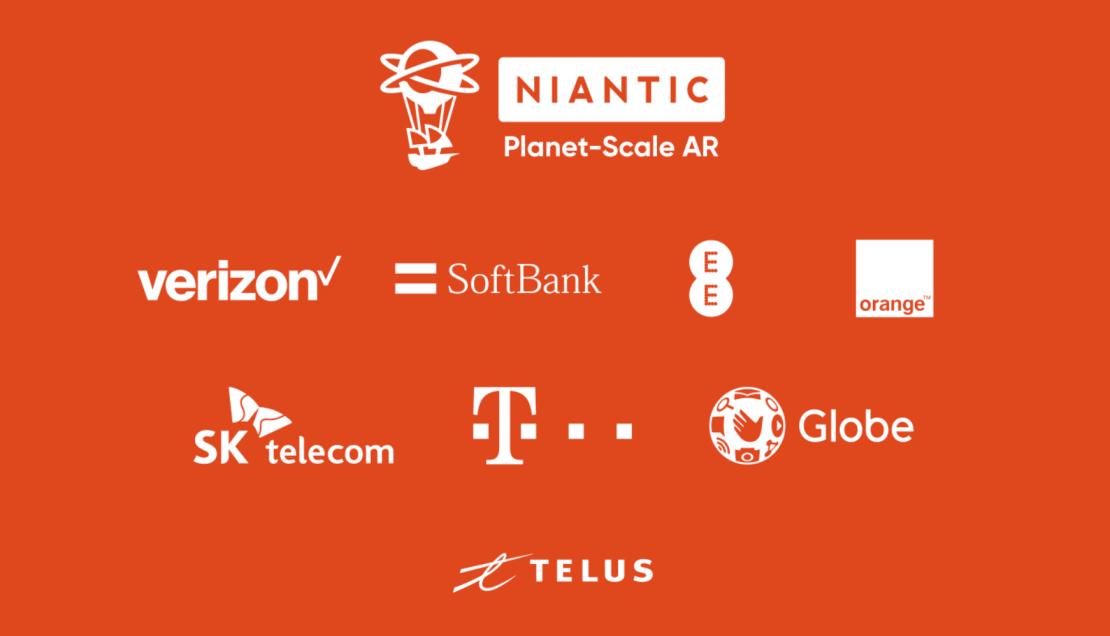 """Logotypy firm należących do """"Planet-Scale AR Alliance"""""""