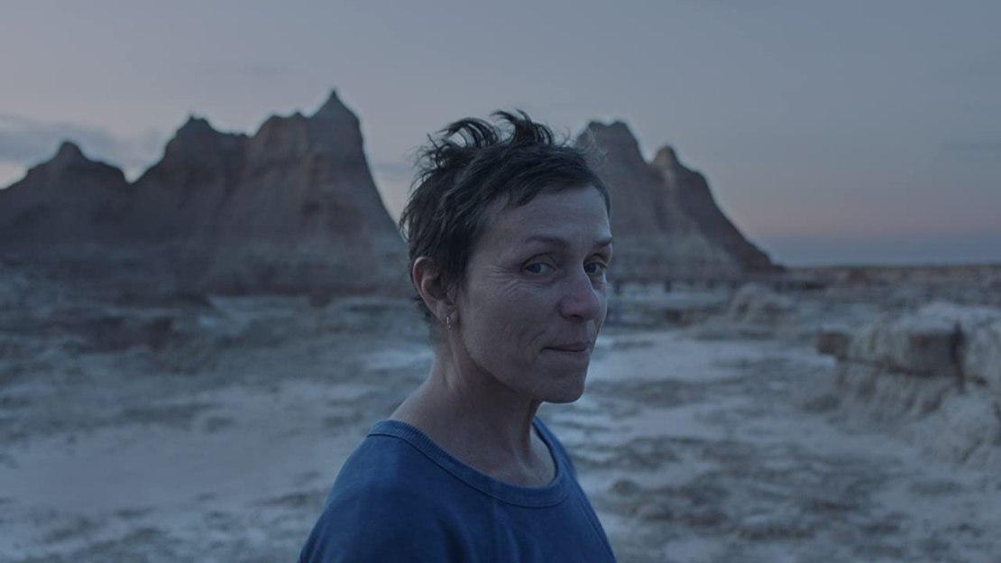 "Frances McDormand w filmie ""Nomadland"" (2020)"