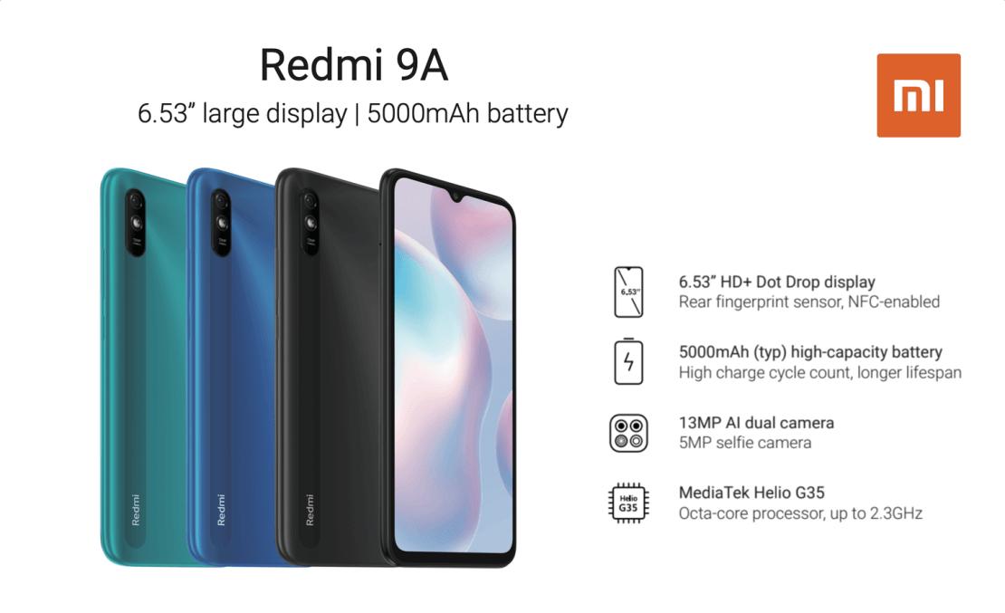 Redmi 9A (Xiaomi)