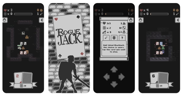 Walcz kartami w lochach RogueJacka!
