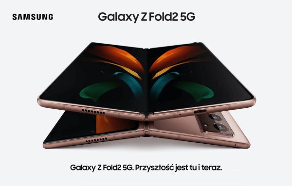 Galaxy Z Fold2 5G – nowa wersja składaka Samsunga