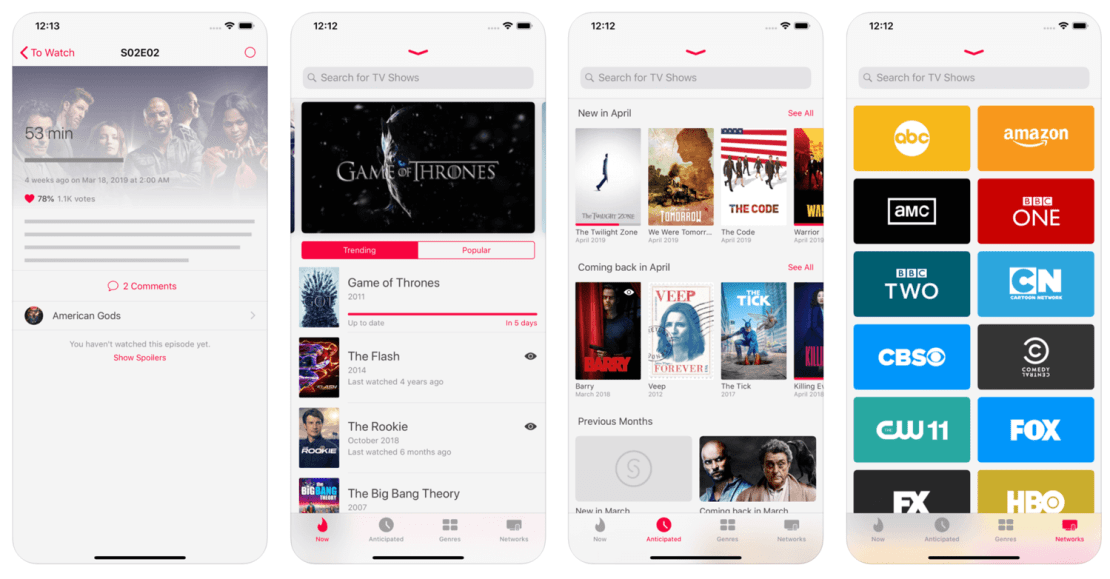 Serist – TV Show Tracker app