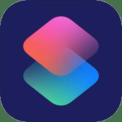 Ikona aplikacji Skróty (Shortcuts) firmy Apple