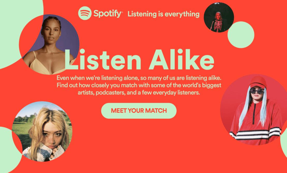 Spotify – Listen Alike