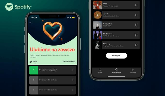 """Playlista """"Ulubione na zawsze"""" w Spotify"""
