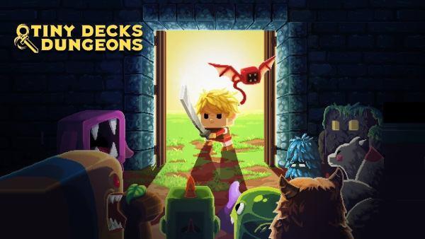 Zmierz się z wieżą w Tiny Decks & Dungeons