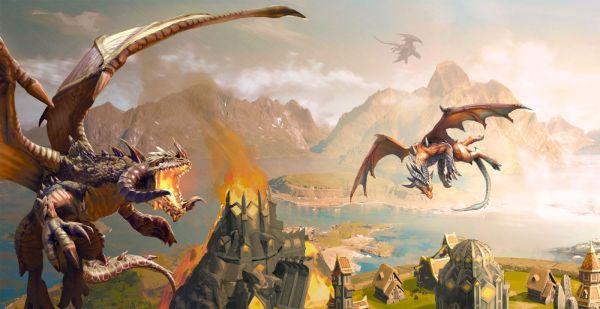 """Niebo w płomieniach w """"War Dragons"""""""