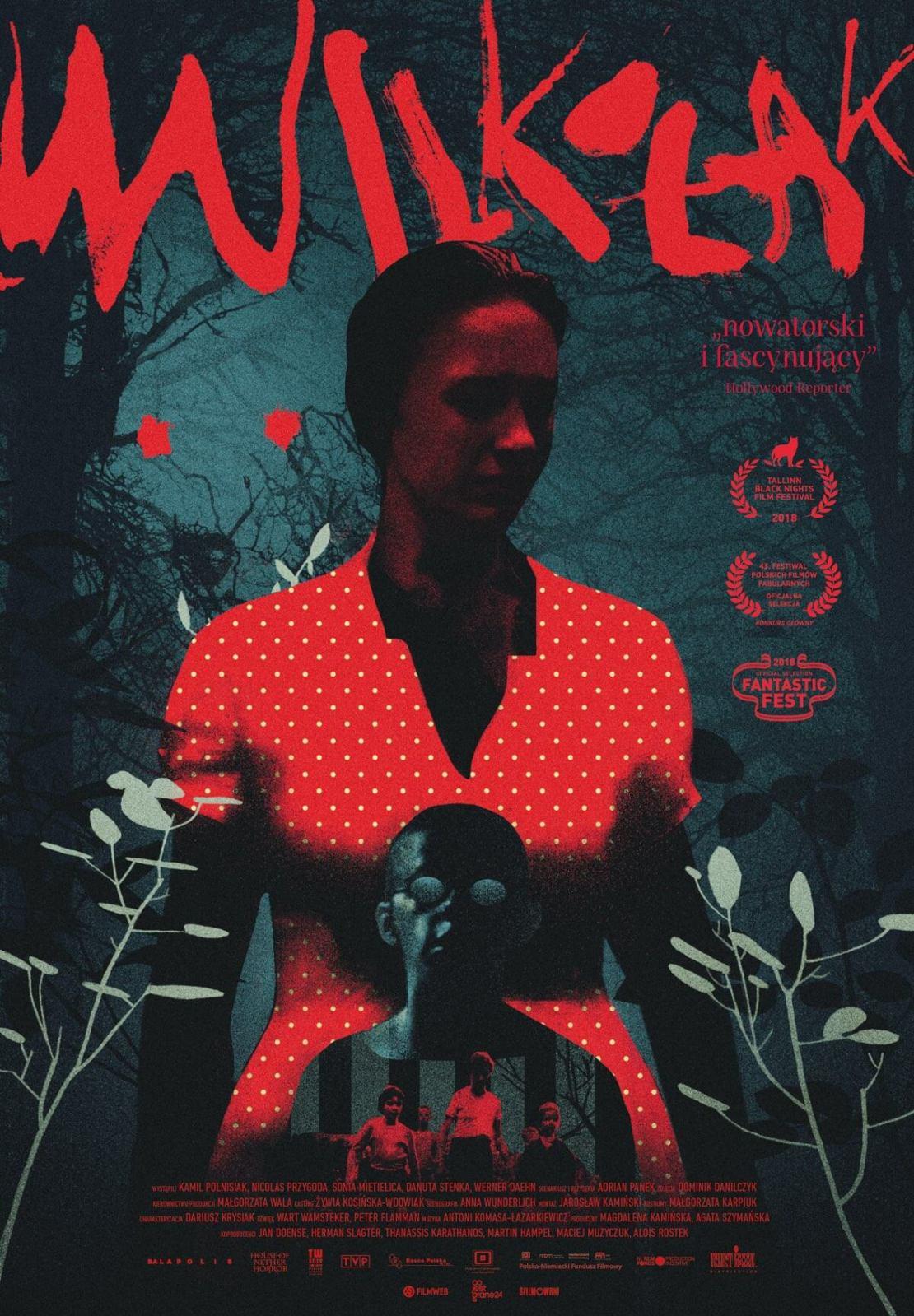 "Plakat do filmu ""Wilkołak"" Adama Panka (2018)"