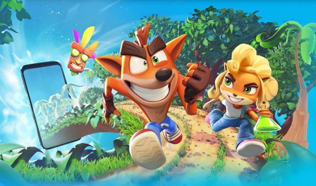 Przedsprzedaż Crash Bandicoot: On the Run! na iOS i Android