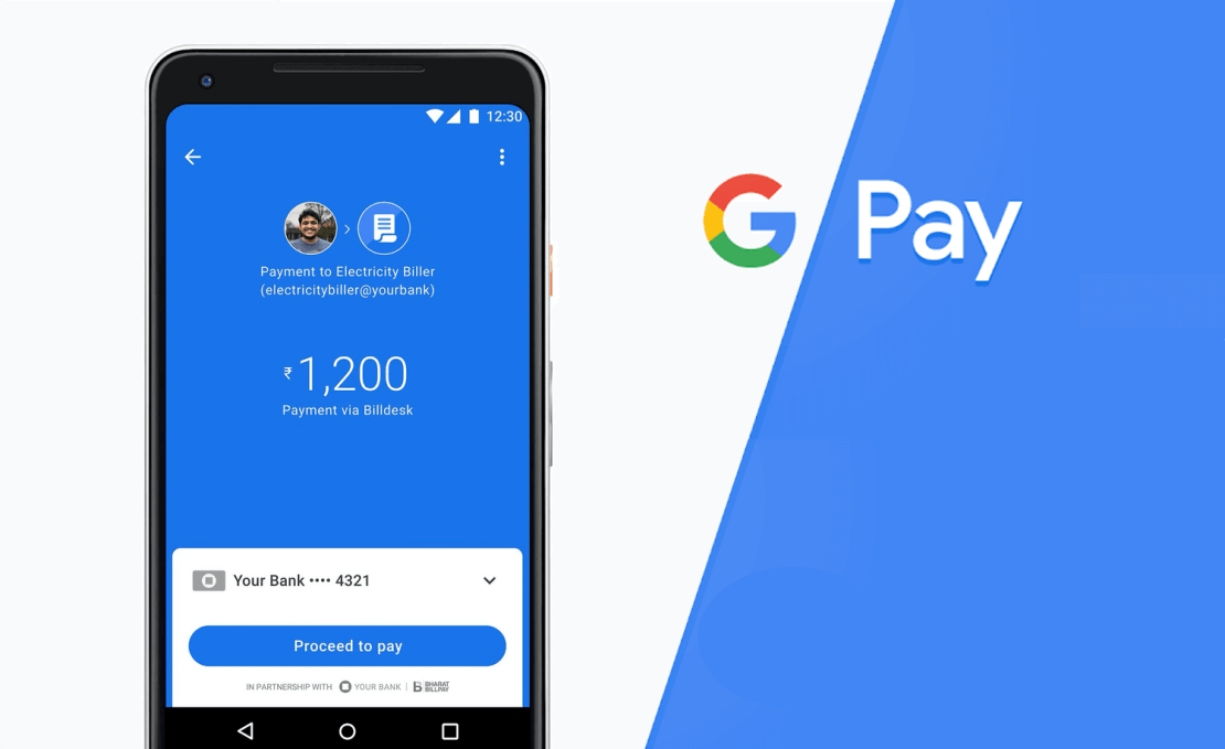 Google Pay - a simple and secure payment app (Flutter)