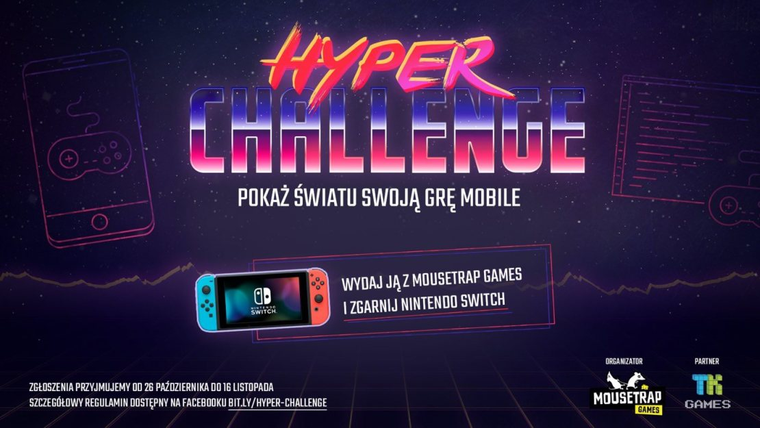 Konkurs Hyper Challenge od Mousetrap games (2020)