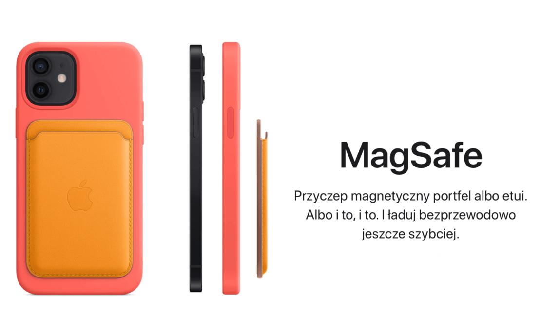 MagSafe - akcesoria do iPhone'a 12