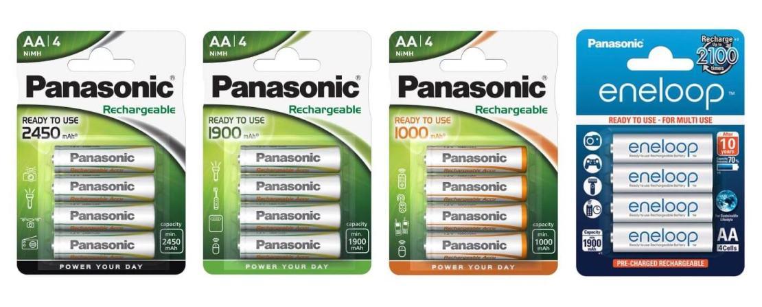Akumulatory wielokrotnego użytku od Panasonic