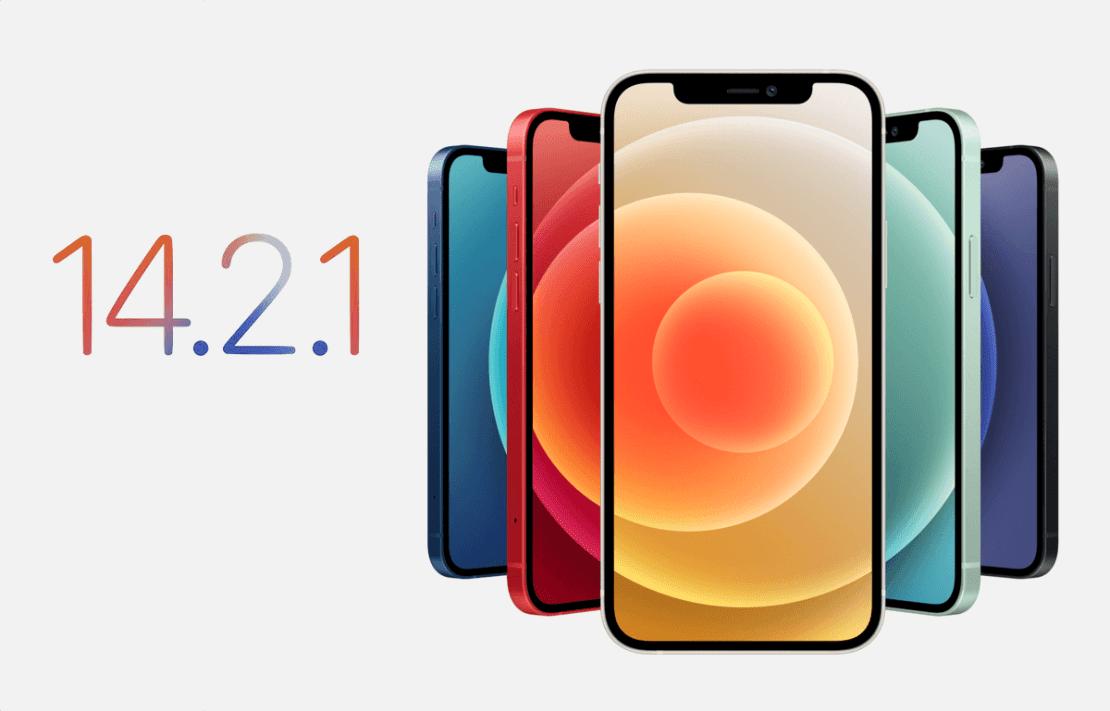 iOS 14.2.1 dla iPhone'ów 12