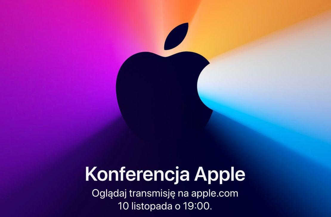 "Konferencja ""One more thing"" Apple'a 10 listopada"