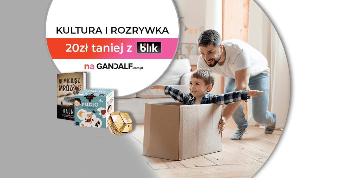 Promocja na Gandalf dla płacących BLIKIEM (listopad 2020)