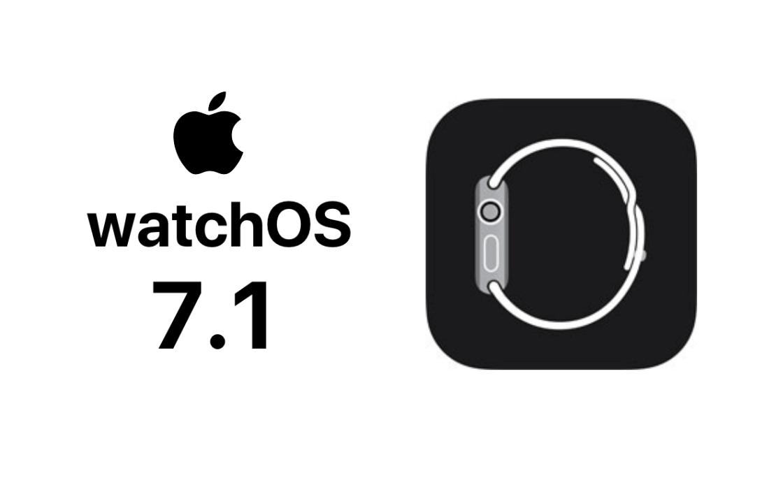watchOS 7.1 update