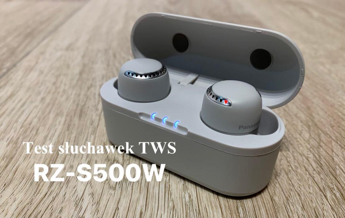 test słuchawek bezprzewodowych TWS RZ-S500W