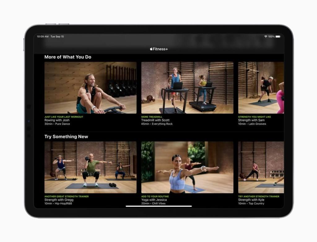 Apple Fitness+ (iPad)