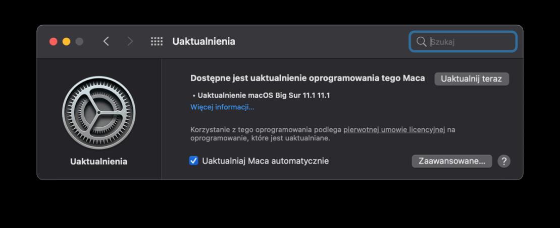 macOS Big Sur 11.1 (OTA update)