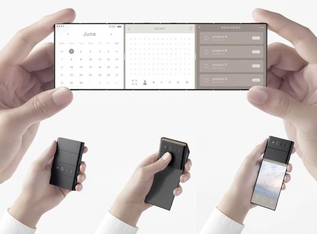 Koncepcja składanego smartfona od OPPO