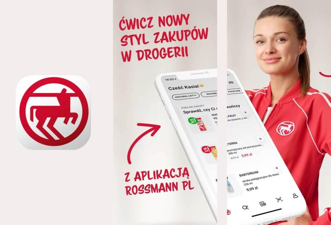 Rossmann GO - zakupy w sklepach Rossmanna całkowicie przez aplikację