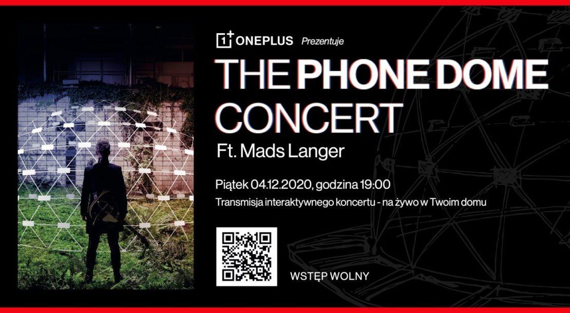 Zaproszenie OnePlus koncert The Phone Dome 2020