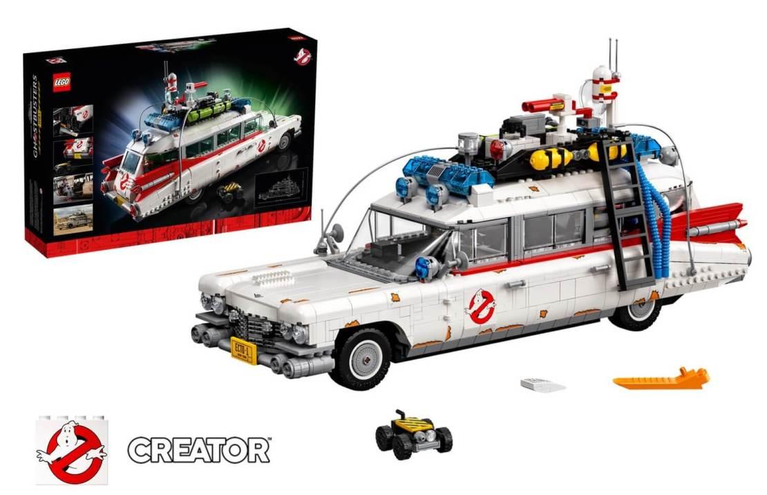 Pojazd Pogromców duchów ECTO-1 z klocków LEGO (#10274)