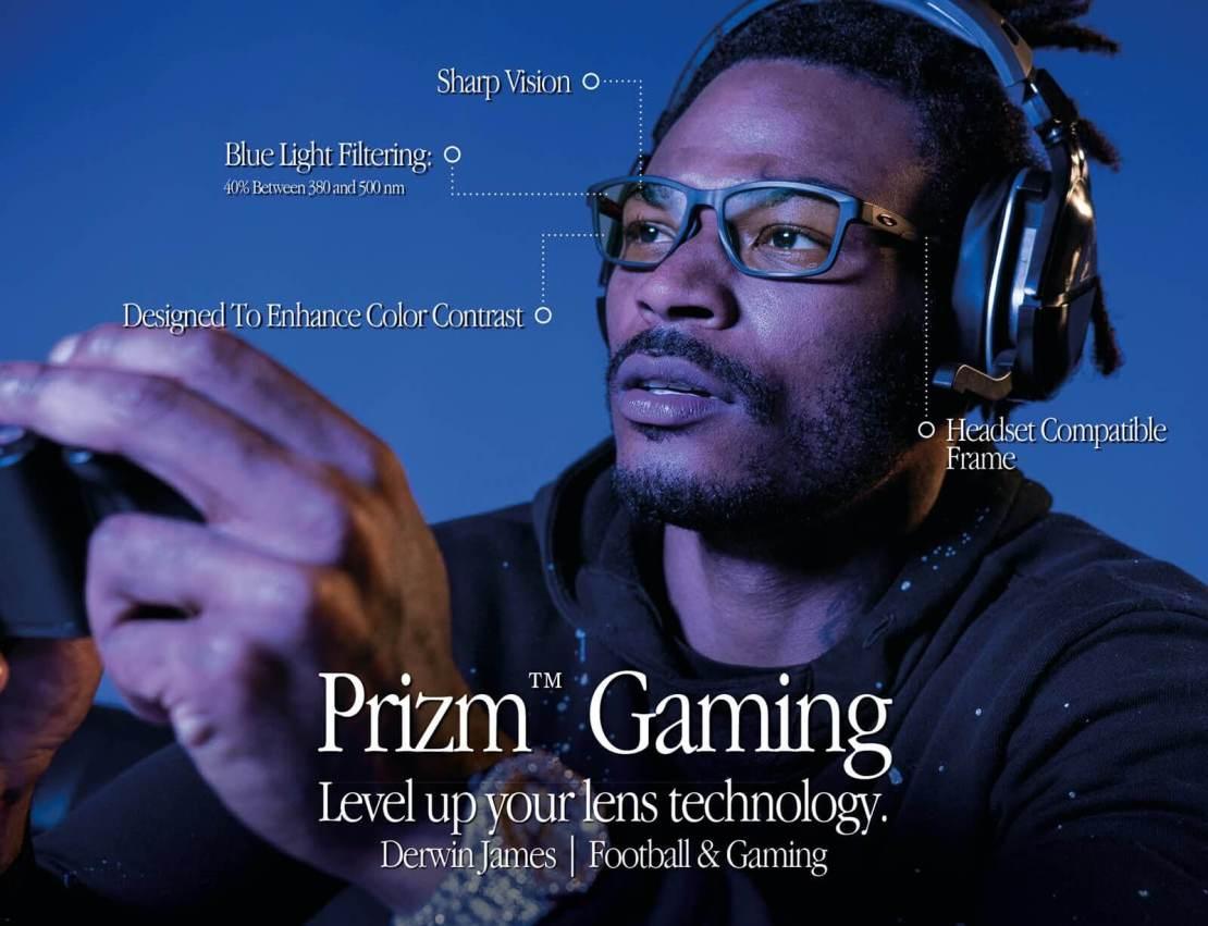 Soczewki dla graczy Oakley Prizm Gaming