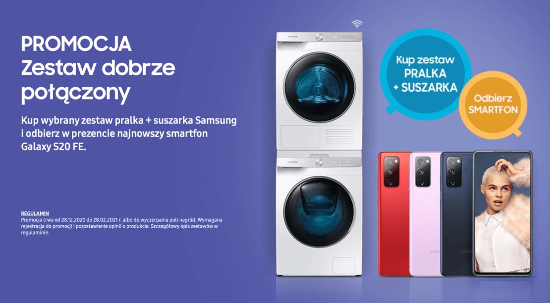 Promocja pralek Samsunga ze smartfonem