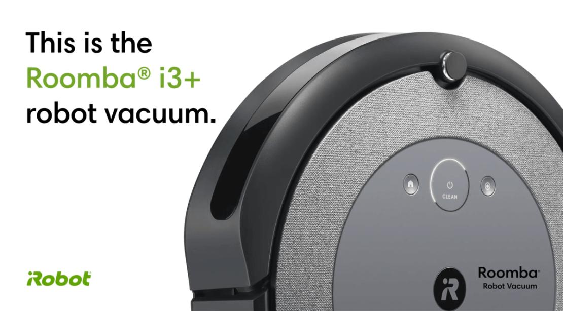 Inteligentny odkurzacz Roomba i3+ od iRobot