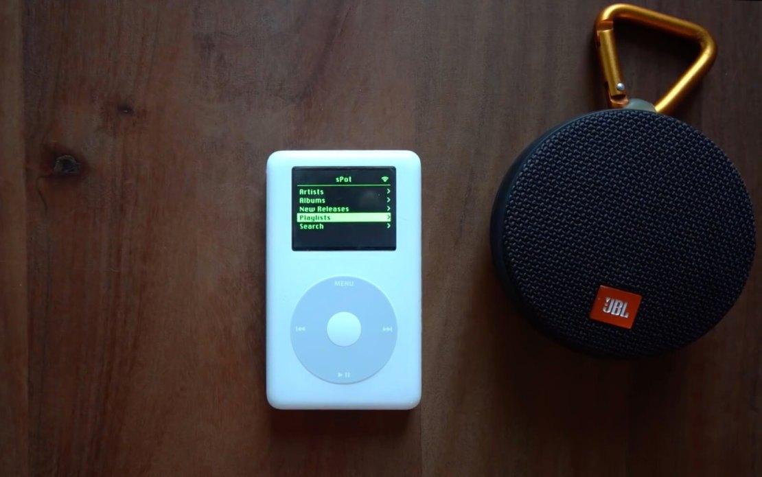 Spotify na iPodzie Classic