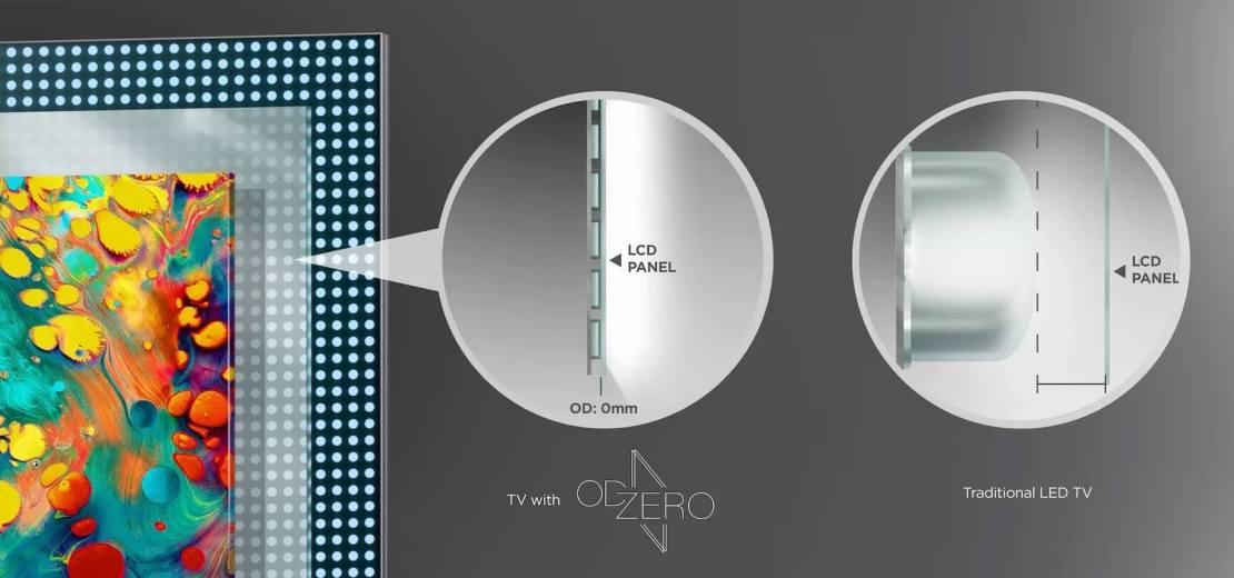 """TCL """"OD Zero"""" Mini LED"""
