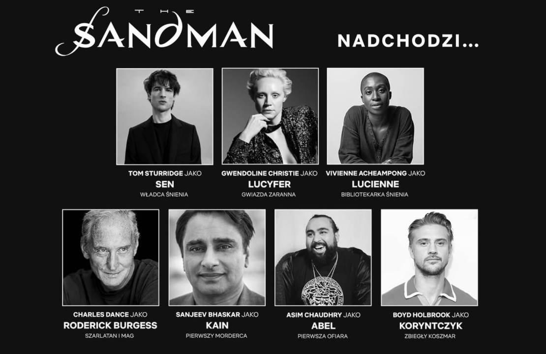 The Sandman od Netflix - obsada