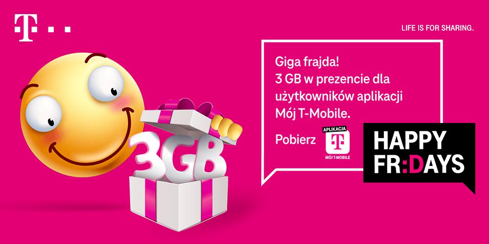 3GB internetu na walentynkowy weekend od T-Mobile (2021)