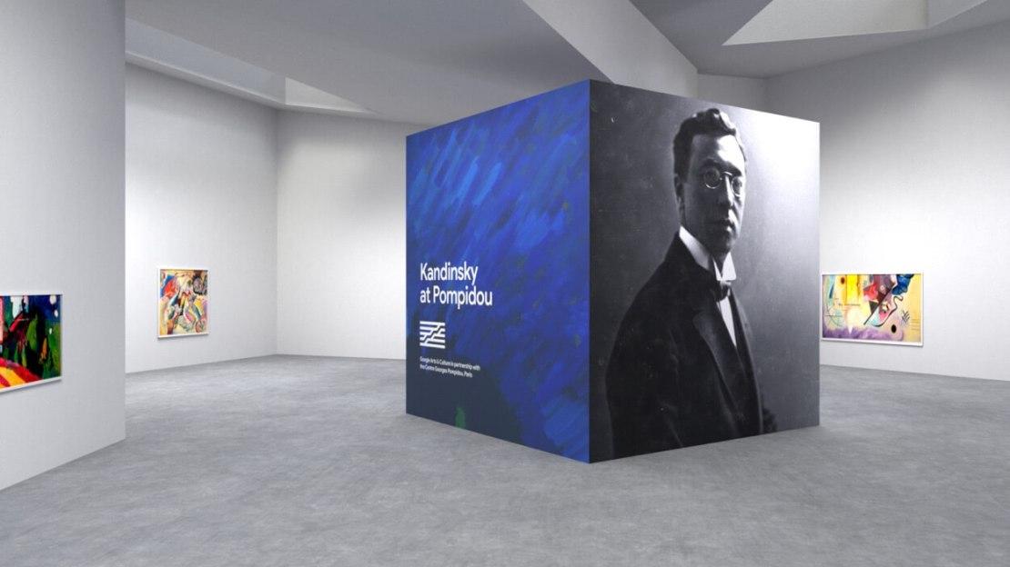 Galeria wirtualna – Kandinsky (Google Arts & Culture)
