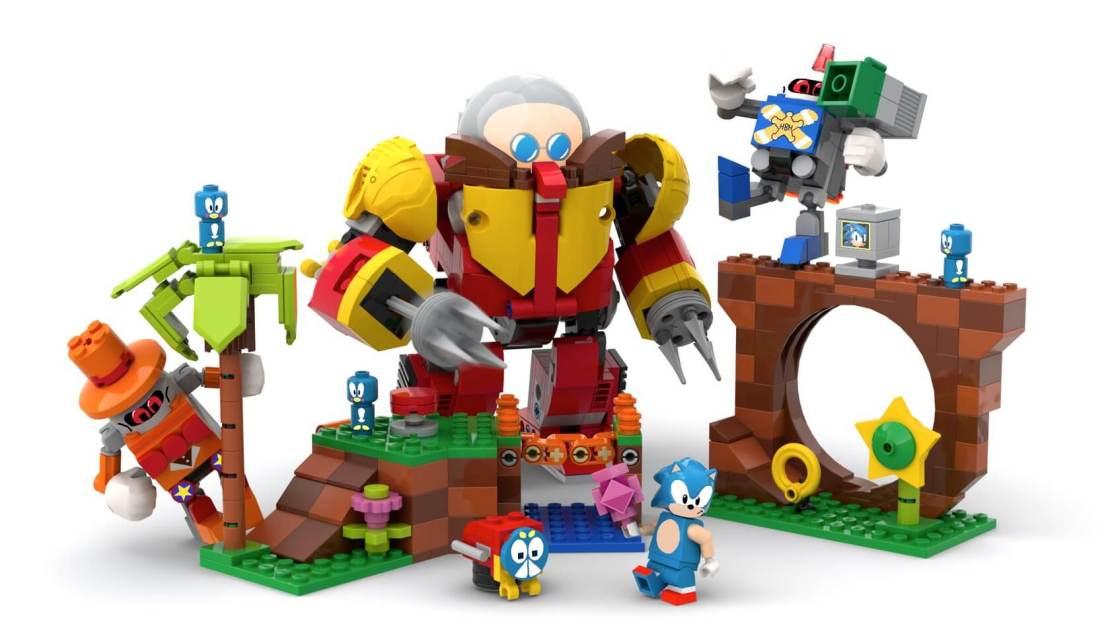 Sonic Mania Green Hill Zone LEGO Ideas®
