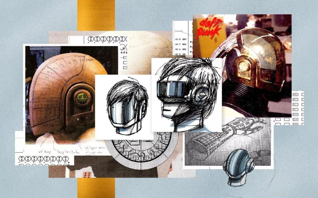 Ilustracja: Alex Castro / Obrazy: Daft Punk, Alex i Martin oraz Alterian Inc.