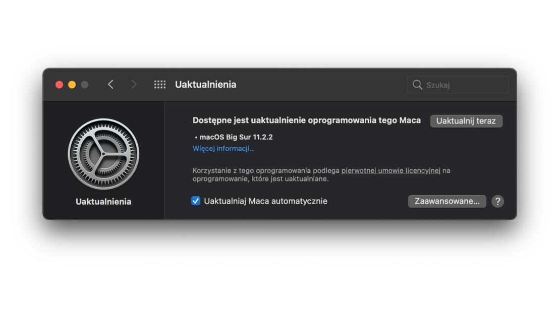 macOS Big Sur 11.2.2 update