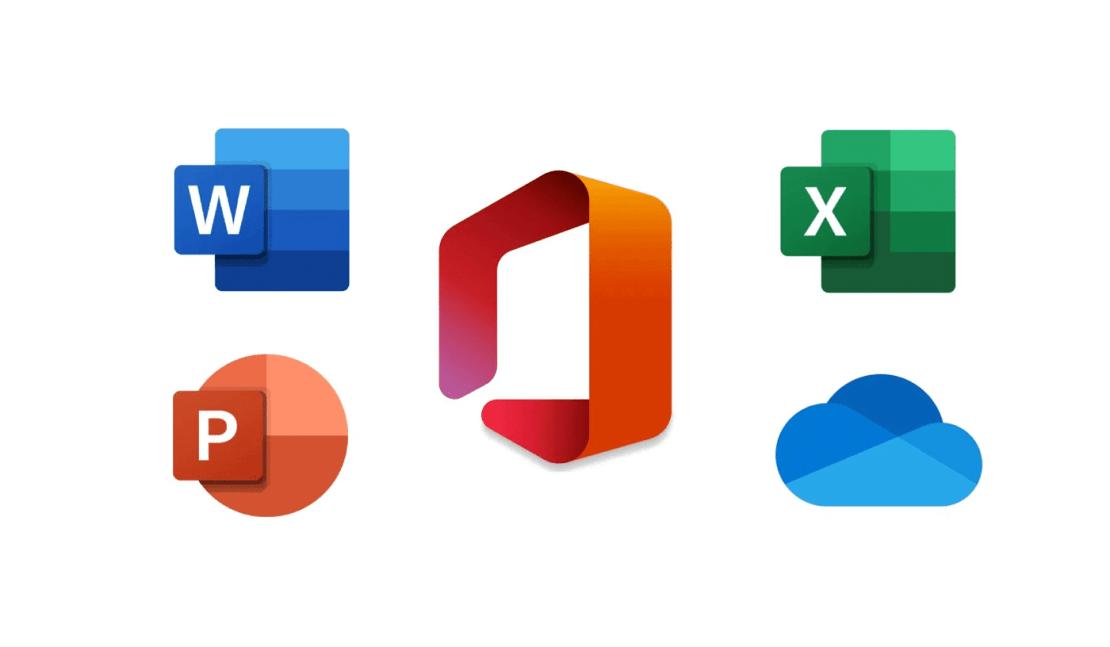 Ikony pakietu Microsoft Office