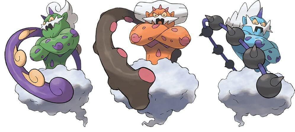 Terrańskie inkernacje Pokemonów Siły Natury