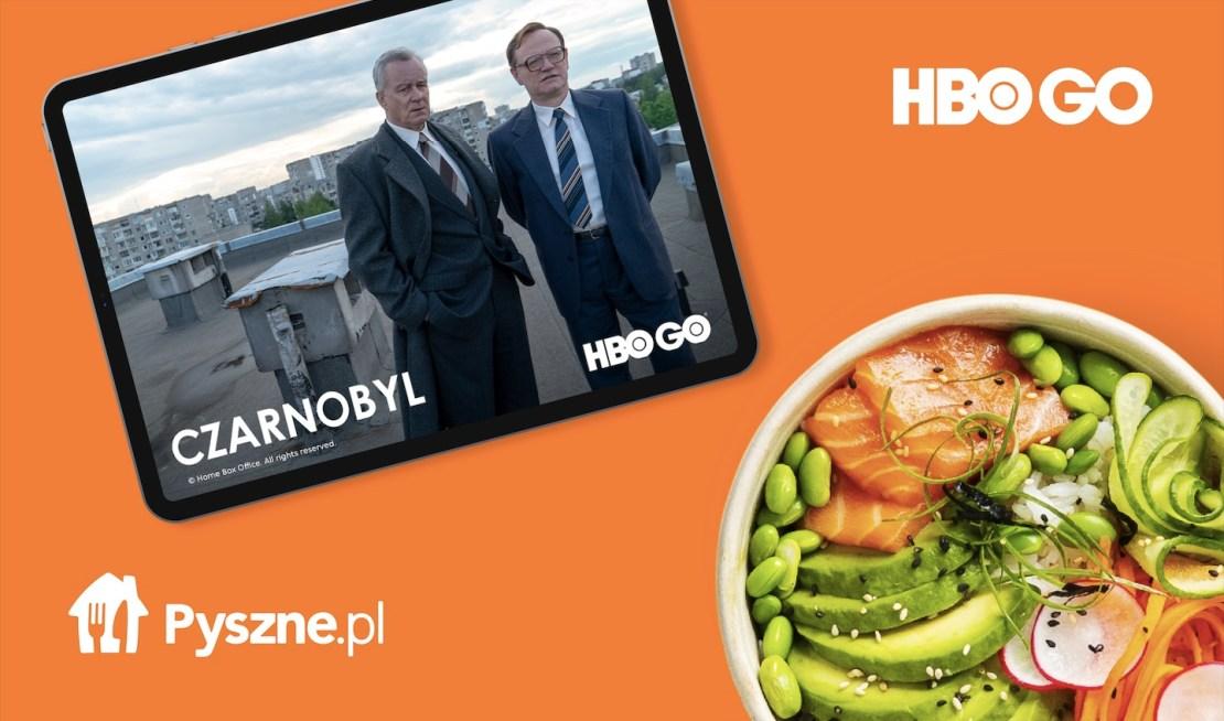 Promocja Pyszne.pl i HBO GO (luty 2021)
