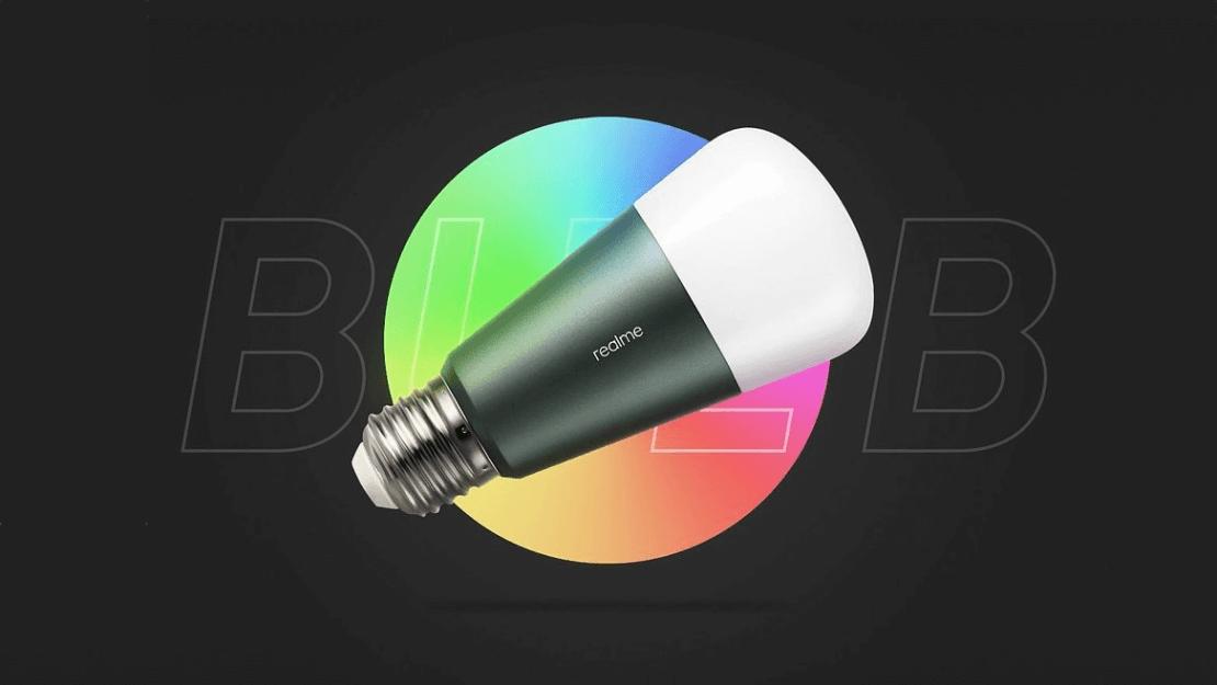realme Bulb - inteligentna żarówka RGB, sterowana głosem