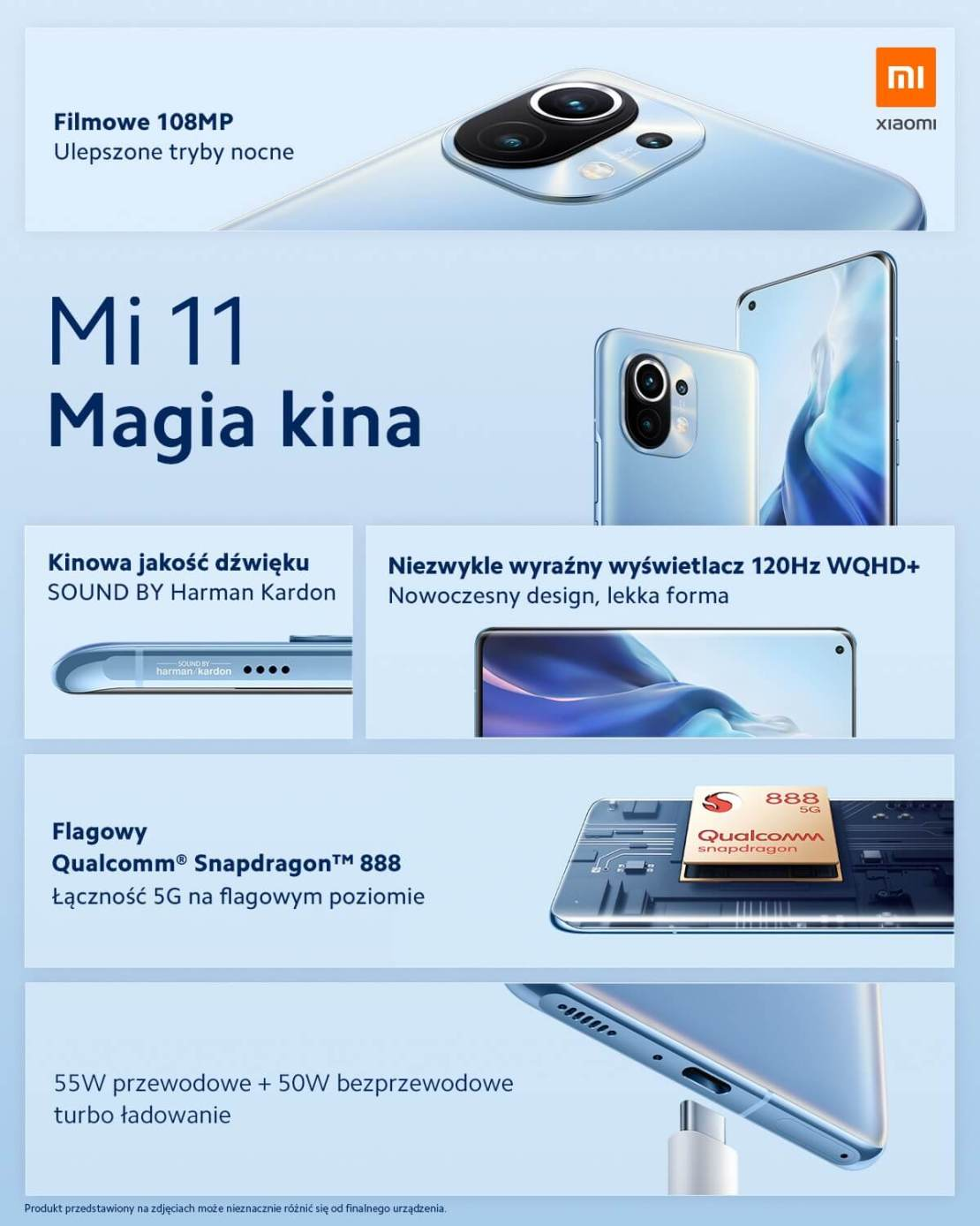 Xiaomi Mi 11 - Magia kina