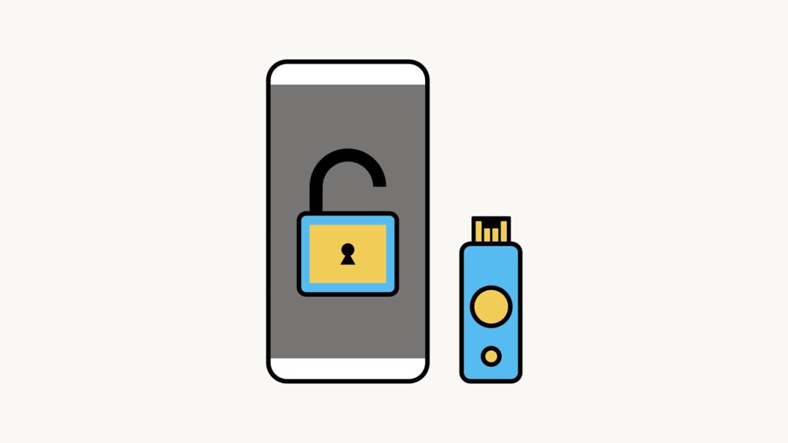Obsługa kluczy bezpieczeństwa przez aplikację Facebook na iPhonie (iOS)